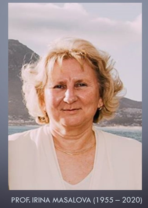 Notice of the passing of Prof. Irina Masalova (1955 – 2020)